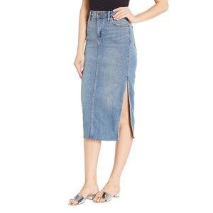 Sam Edelman Skirts - NEW Sam Edelman Maribelle Denim Skirt 26